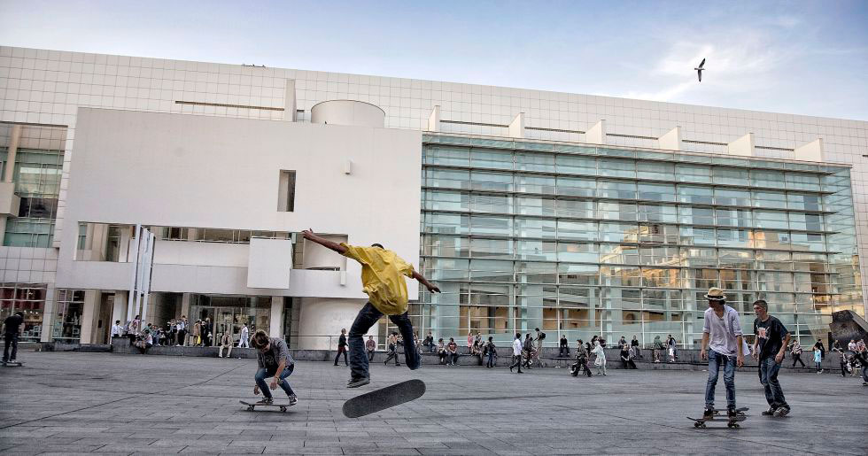 Macba-plaza